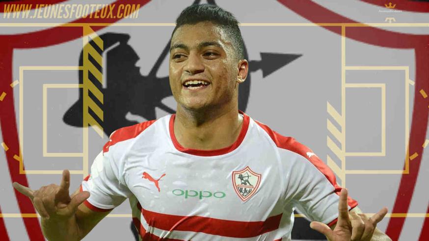 Mostafa Mohamed, attaquant égyptien de Zamalek