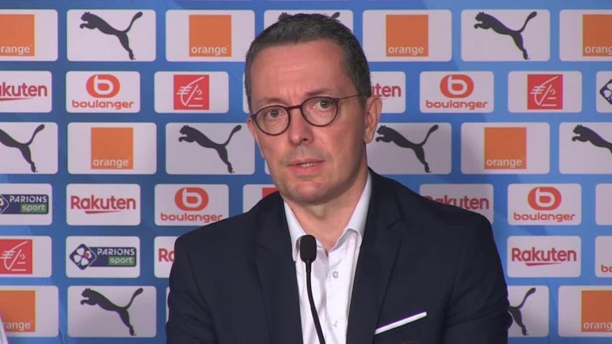 Jacques-Henri Eyraud, président de l'Olympique de Marseille
