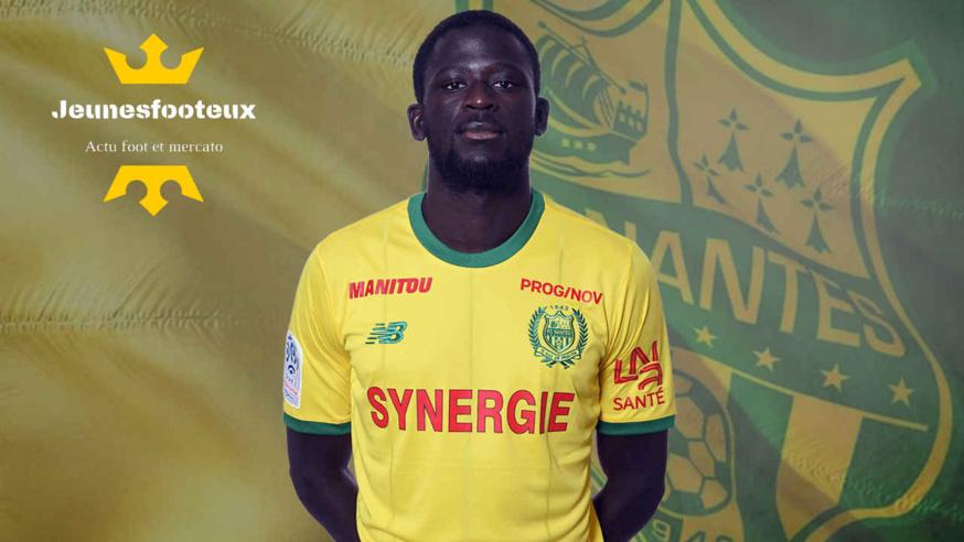 Abdoulaye Touré, milieu de terrain du FC Nantes