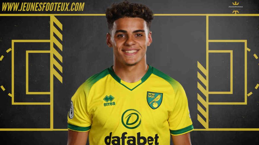 Latéral droit de Norwich, Max Aarons serait convoité par Manchester United