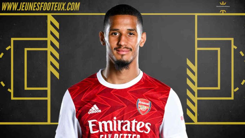William Saliba pourrait quitter Arsenal en prêt pour l'OGC Nice dans les prochains jours