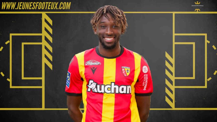 Charles Boli, jeune milieu du RC Lens est prêté jusqu'à la fin de la saison au Paris FC
