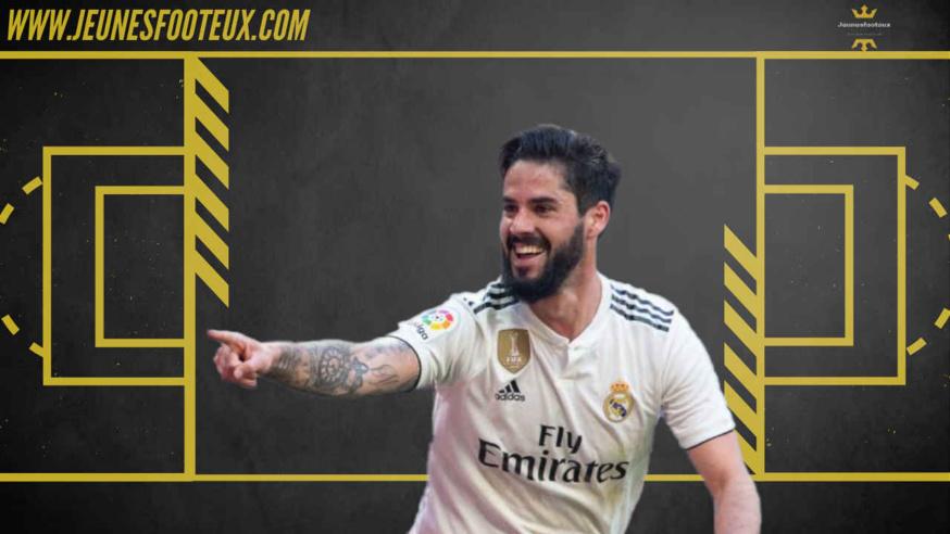 Arsenal Mercato : Isco reste au Real Madrid !