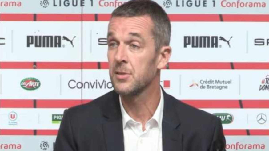 Stade Rennais - Nicolas Holveck, président du SRFC