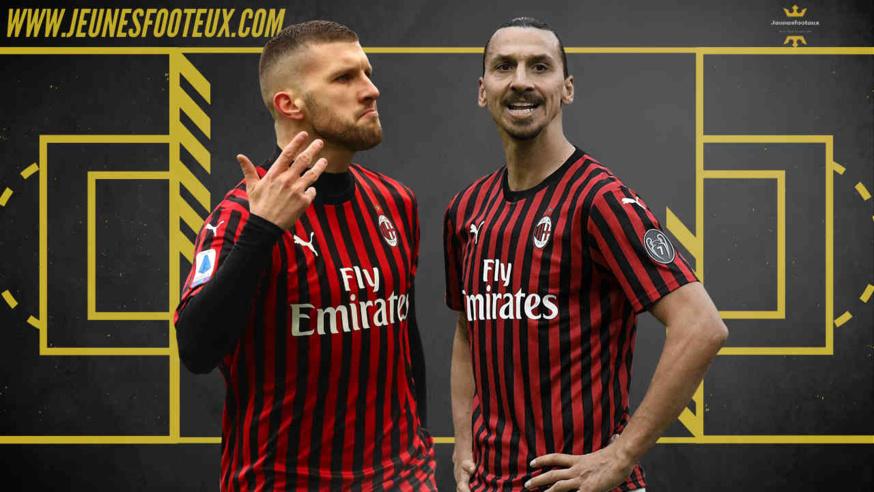 Ante Rebic (Covid) et Zlatan Ibrahimovic (Blessé) seront tous deux absents ce soir face à la Juventus