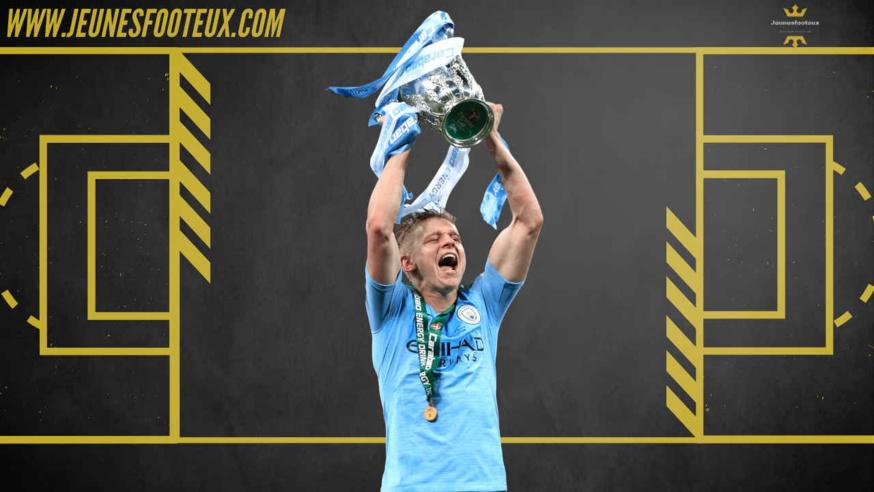 Moins utilisé par Pep Guardiola, Oleksandr Zinchenko pourrait quitter Manchester City cet hiver