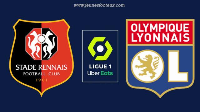 Stade Rennais - OL : 19e journée de Ligue 1