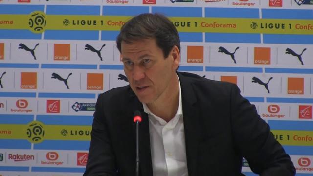OL - FC Metz : Rudi Garcia peste contre ses attaquants et l'arbitrage
