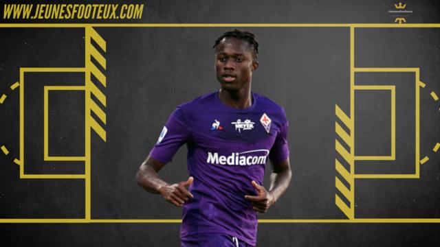 Attaquant de la Fiorentina, Christian Kouamé serait courtisé par l'ASSE