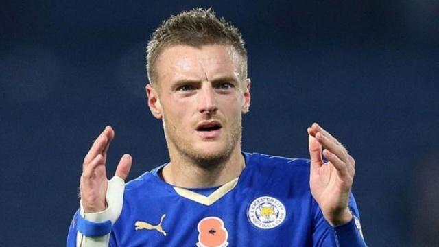 Premier League : Jamie Vardy (Leicester City).