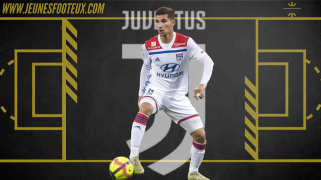 Houssem Aouar serait toujours sur les tablettes de la Juventus, il pourrait rallier Turin cet été