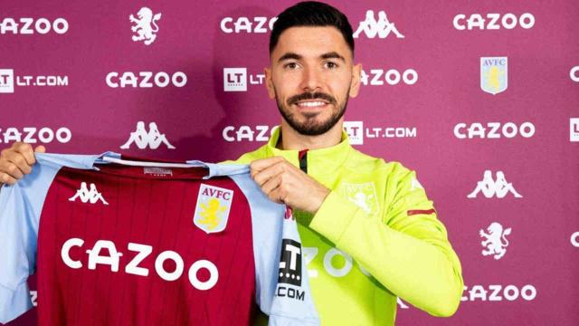 Morgan Sanson, milieu de terrain d'Aston Villa