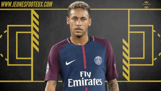 PSG Foot : Neymar (Paris SG, ex Barça).