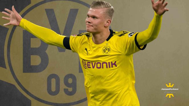 Erling Braut Haaland pas obnubilé par un départ du Borussia Dortmund