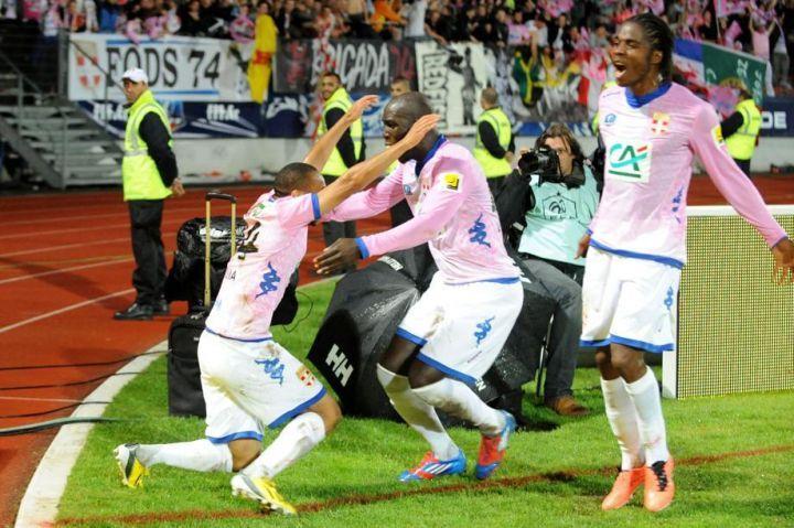 Evian Thonon Gaillard explose Lorient en Coupe de France