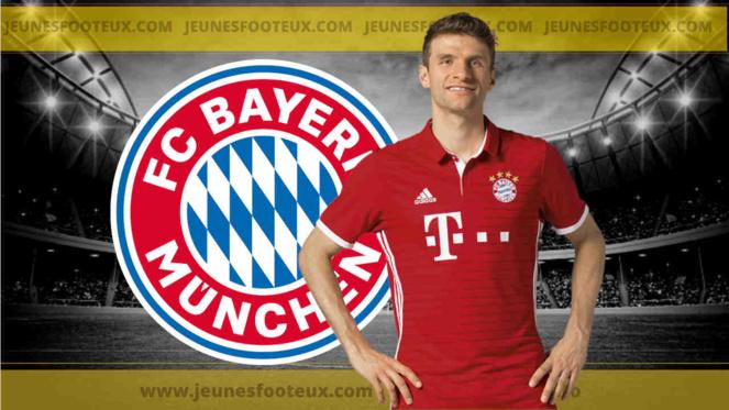 Bayern Munich - Mercato : Thomas Muller n'exclut pas de quitter le Bayern !
