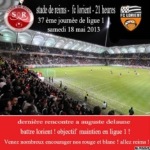 Reims - Lorient : rencontre capitale !