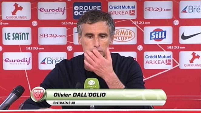 Stade Brestois - RC Lens : les lensois simulateurs ? Oui selon Dall'Oglio