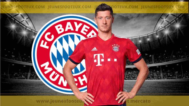 Bayern Munich - Mercato : Un possible départ de Lewandowski