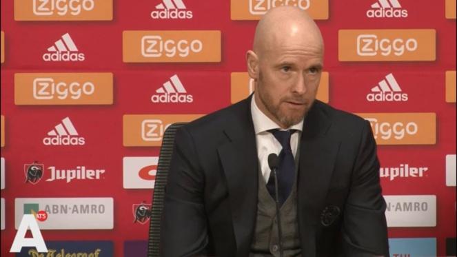 Ajax : Erik ten Hag ne succédera pas à José Mourinho à Tottenham