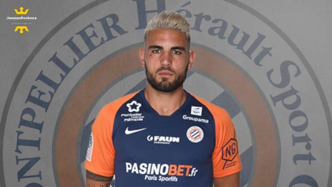 MHSC / Algérie Foot : Andy Delort (Montpellier HSC).