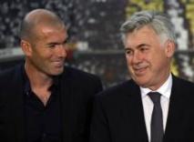 Zinédine Zidane adjoint de Carlo Ancelotti