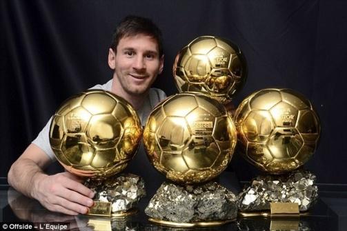 Résultats des sondages : Ballon d'Or 2013