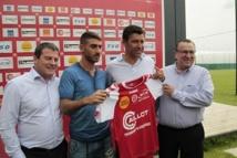 Reims : Eliran Atar présenté officiellement à la presse.
