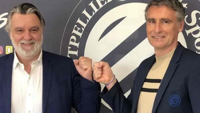 Olivier Dall'Oglio, nouvel entraîneur du MHSC