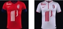Lille présente ses nouveaux maillots.