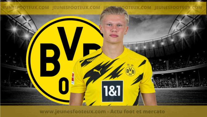 Dortmund : Haaland ne partira pas pour moins de 200M€ !