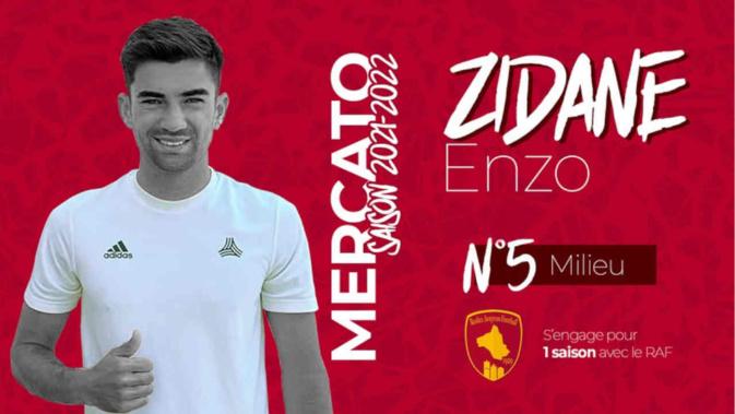 Le fils de Zidane signe en Ligue 2 !