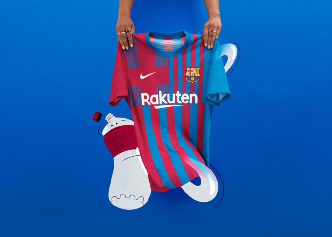 Le nouveau maillot domicile du FC Barcelone ne fait pas l'unanimité