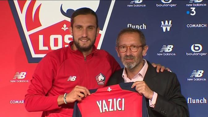 Yazici a laissé des traces à Milan
