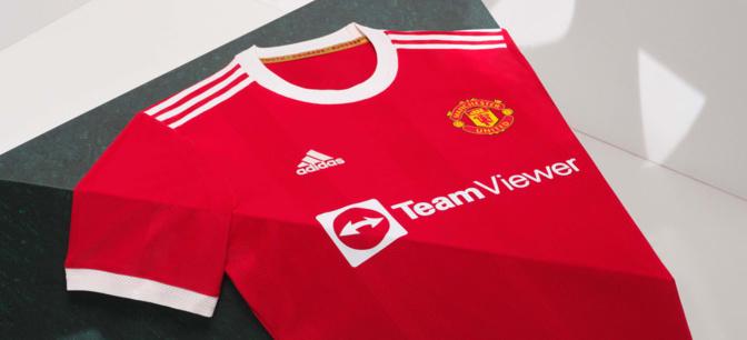 Adidas dévoile le maillot domicile 2021-2022 de Manchester United