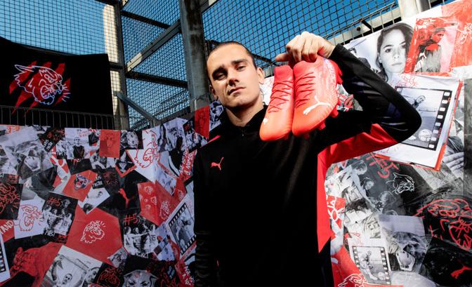 Les nouvelles chaussures d'Antoine Griezmann chez PUMA