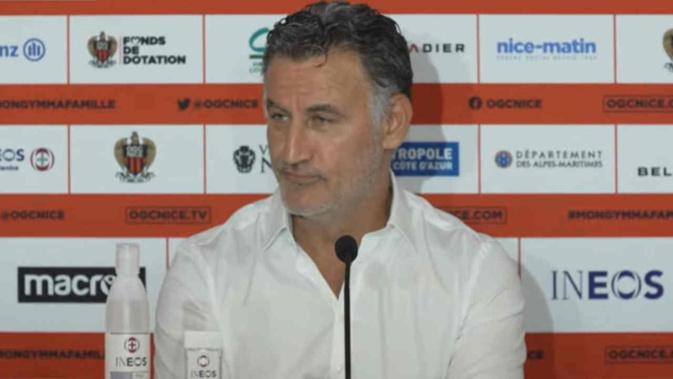 Christophe Galtier compare l'OGC Nice au LOSC
