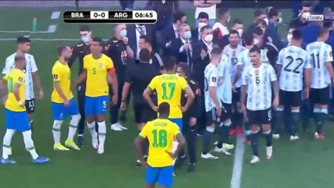 Les raisons de la suspension du match entre le Brésil et l'Argentine