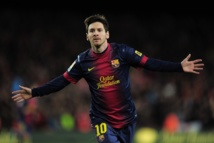 Lionel Messi absent pendant deux à trois semaines