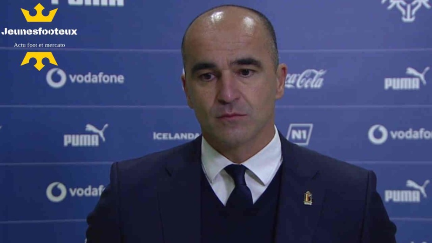 Belgique : Roberto Martinez dévoile la raison principale de l'échec des Diables Rouges à l'Euro et en Ligue des Nations !