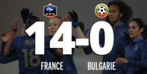 EdF féminine : les Bleues atomisent la Bulgarie 14-0 !