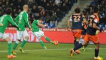 Pas d'effet Courbis !  Montpellier s'incline face à Saint-Etienne (0-1)