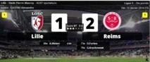 Reims crée la sensation en battant Lille