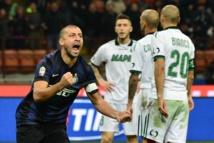 Serie A : L'Inter Milan s'impose difficilement face à Sassuolo (1-0)