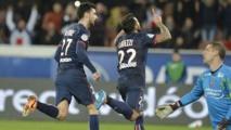 Le PSG sans problème contre Valenciennes