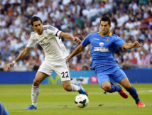 Liga : Le Real Madrid bat Getafe (0-3)