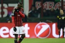 AC Milan: Balotelli OUT pour au moins 10 jours