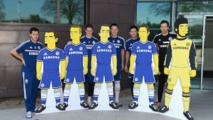 Chelsea : Hazard, Lampard, Cech, Torres, Terry en mode Simpson