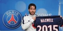 PSG : Maxwell prolonge sont contrat jusqu'en 2015
