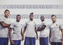 Le nouveau maillot extérieur de l'Equipe de France